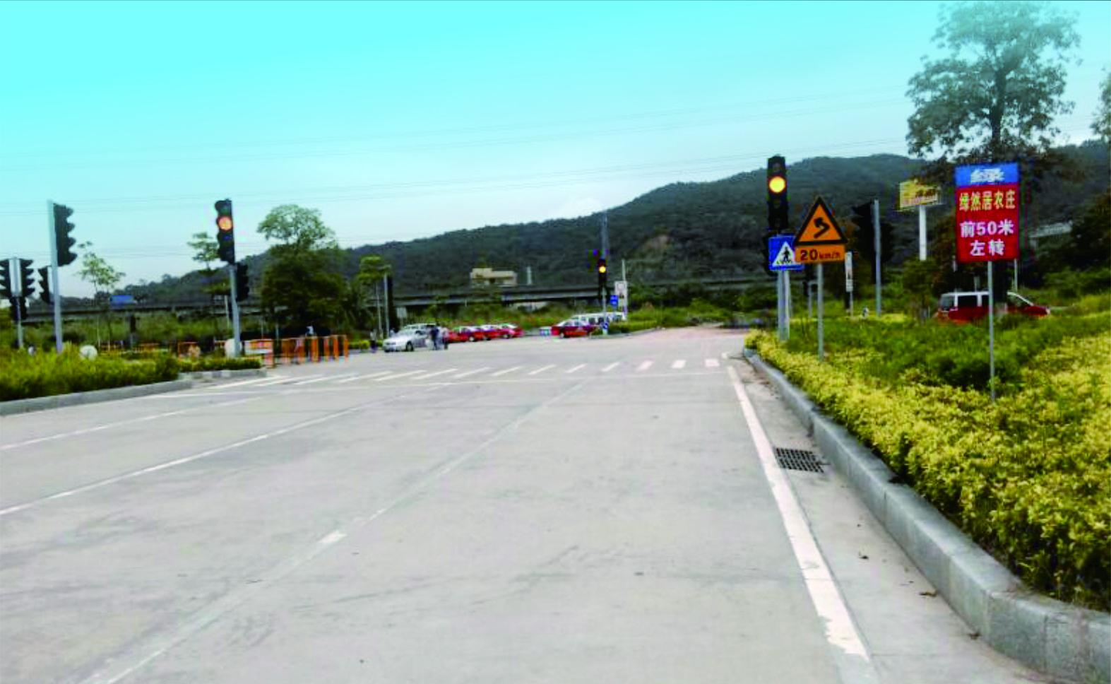 广东省中山市市政工程建设中心轻轨中山站道路