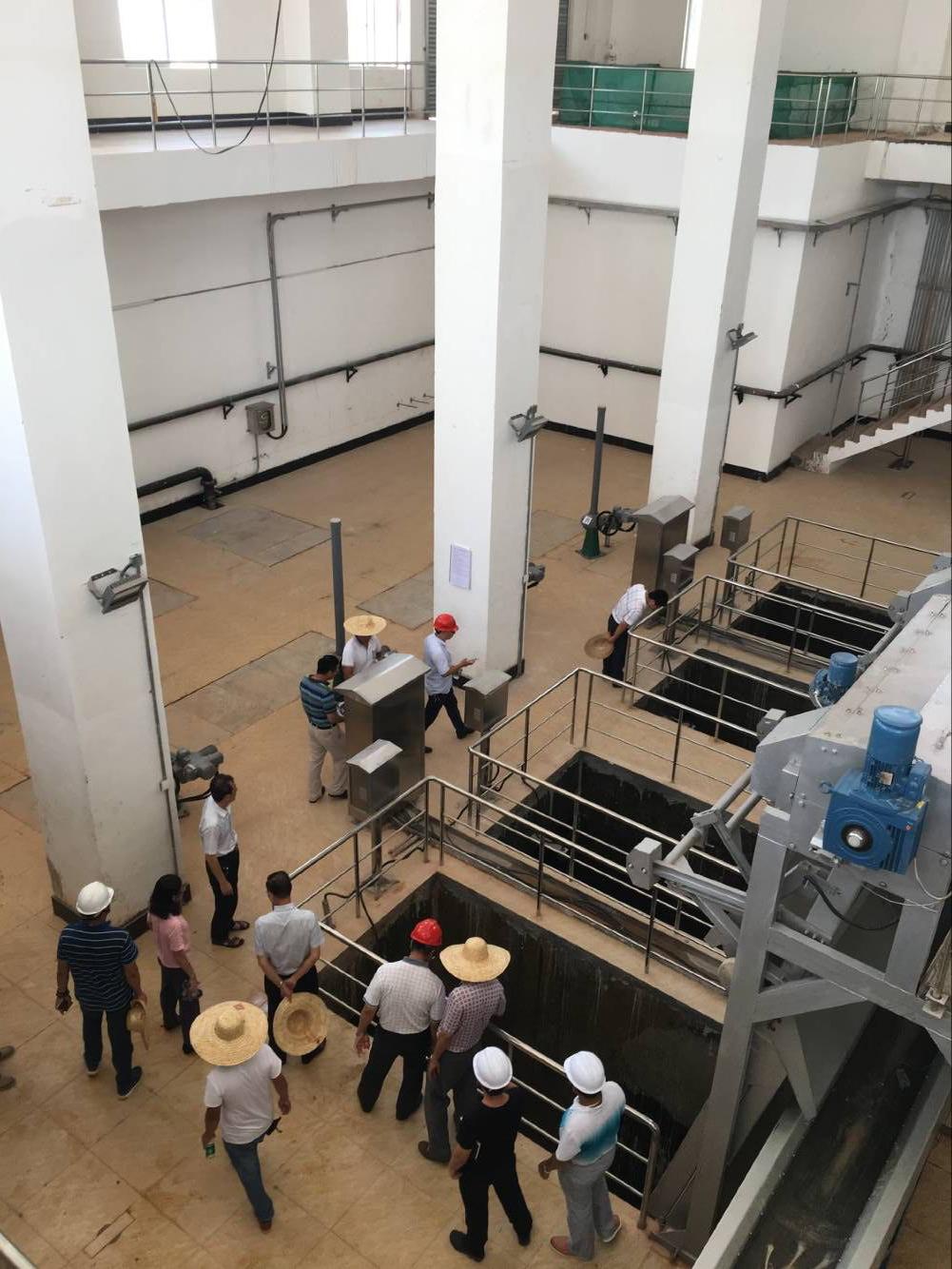 广州石井污水处理二期工程设备采购及安装工程