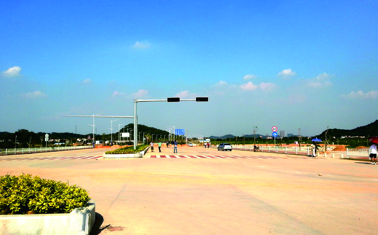 广东省江门市滨江南路西段建设Maxbet万博